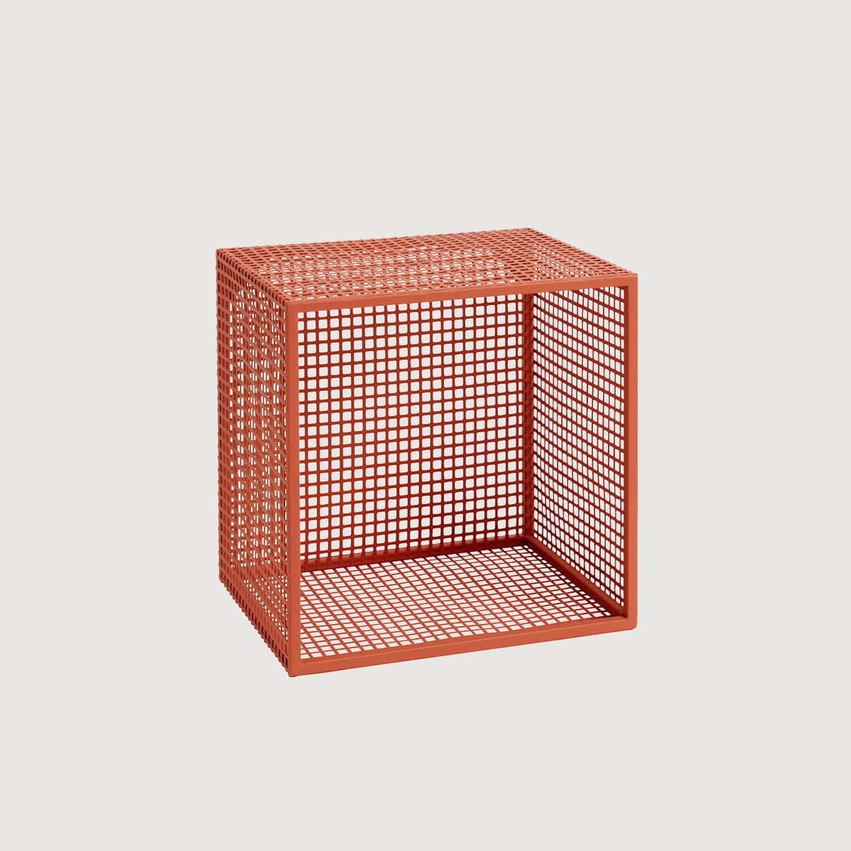 Grillo Wire Wall Box – Terracotta