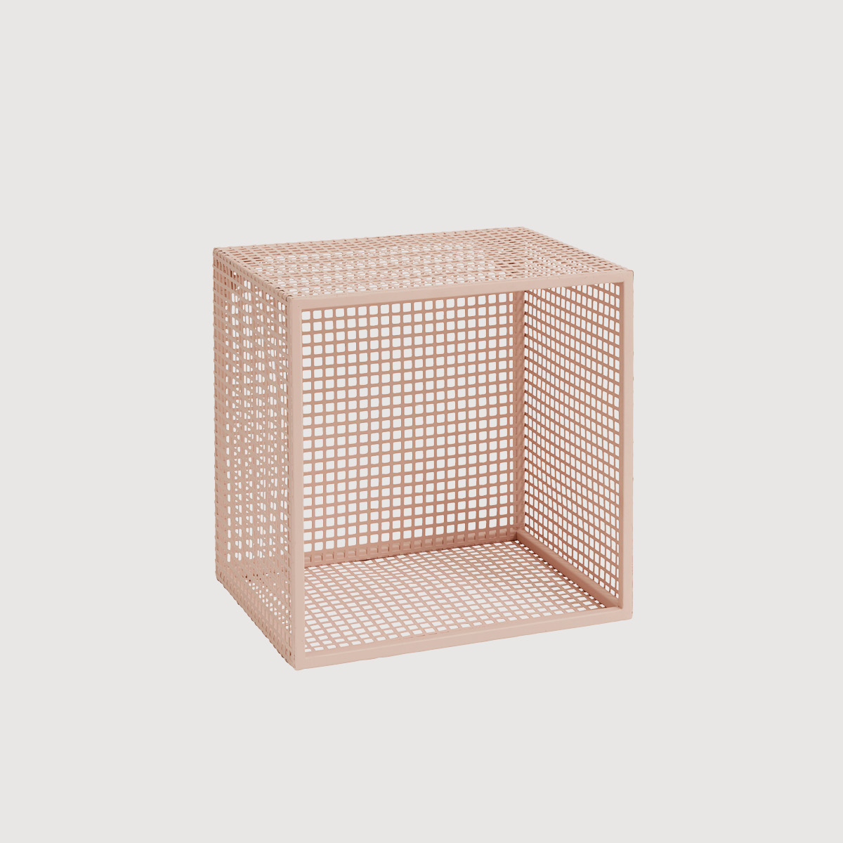 Grillo Wire Wall Box – Pink
