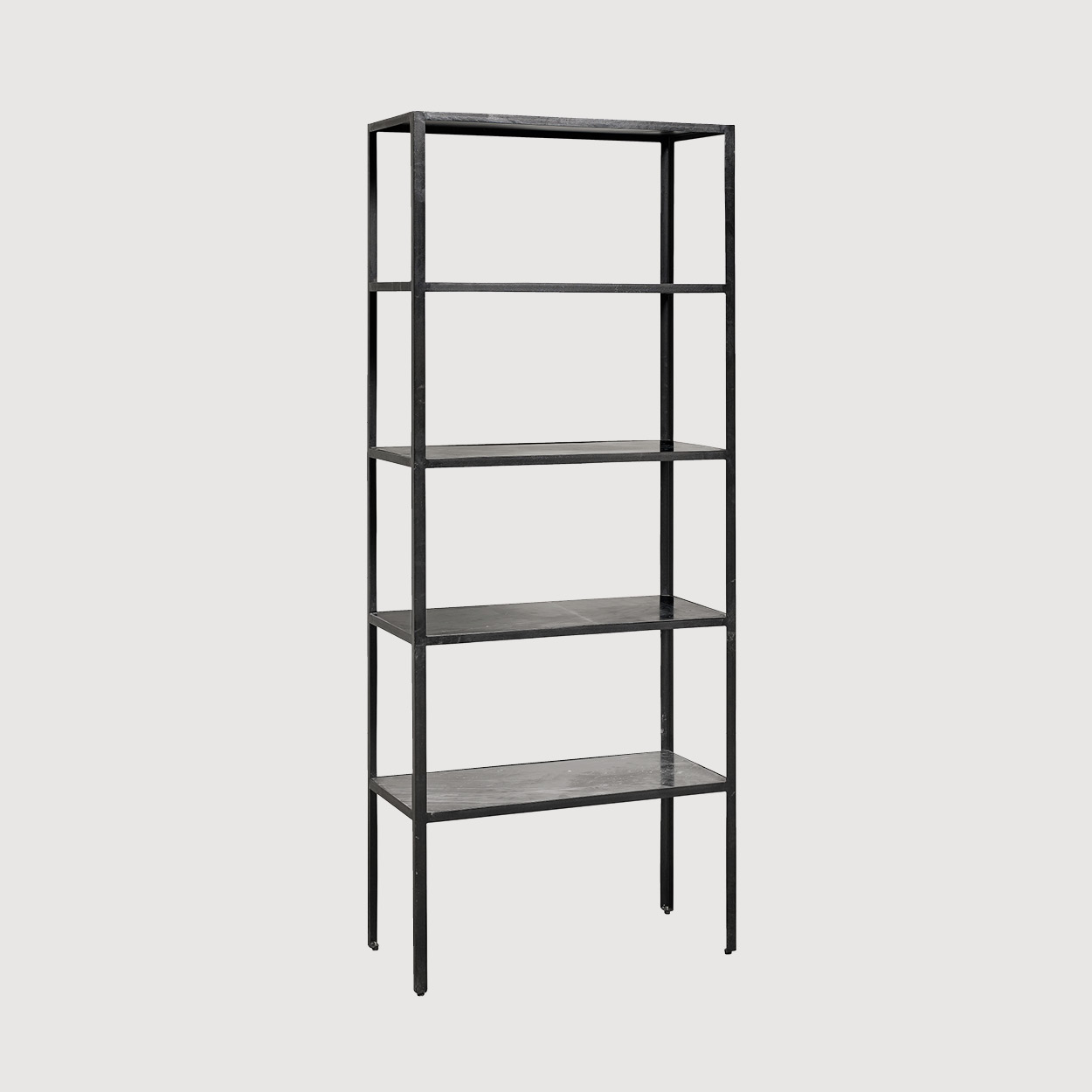 Black Marble Shelving