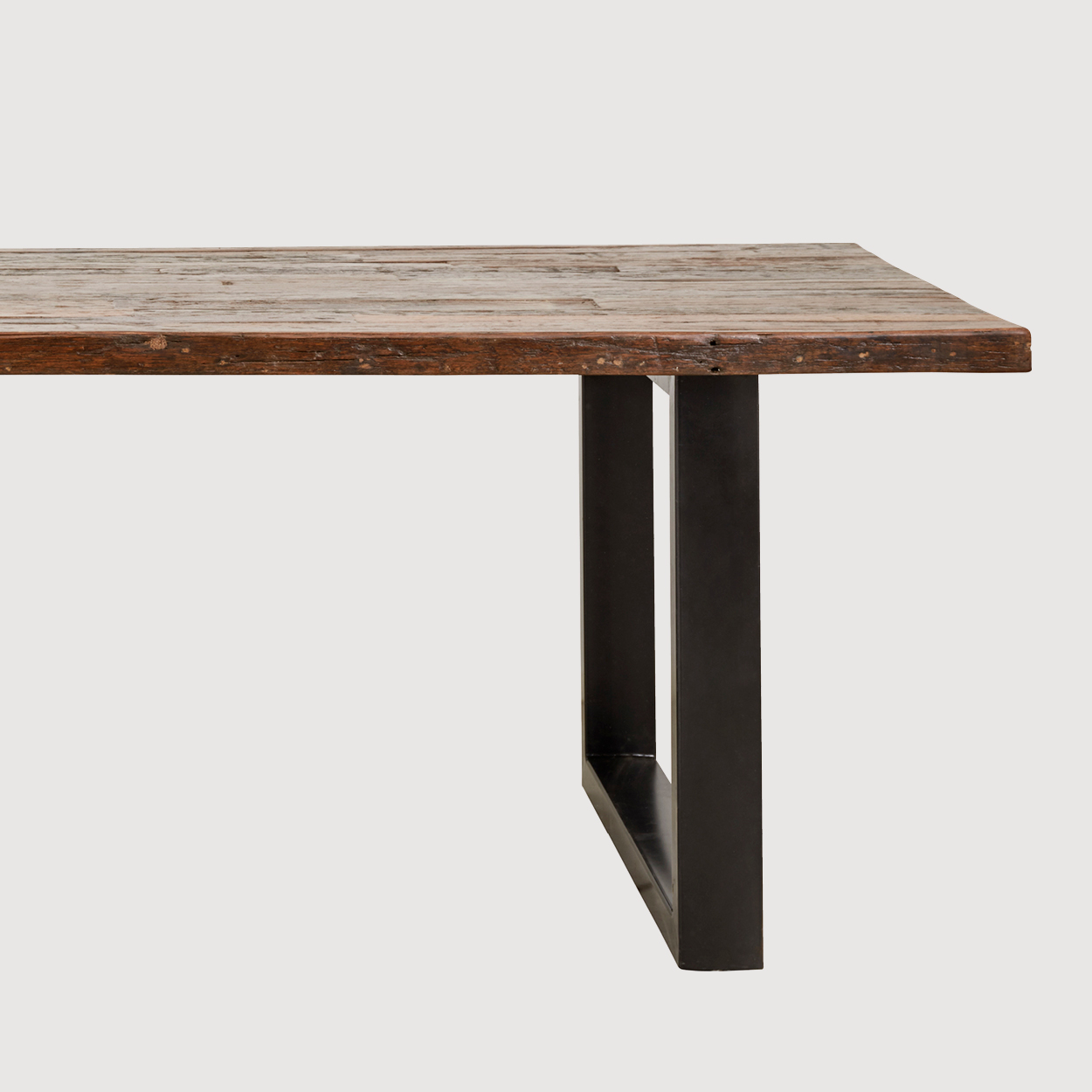 Brewery Recycled Wood Dining Table gallery image