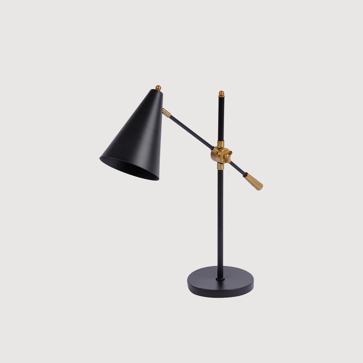 Black Brass Desk Lamp