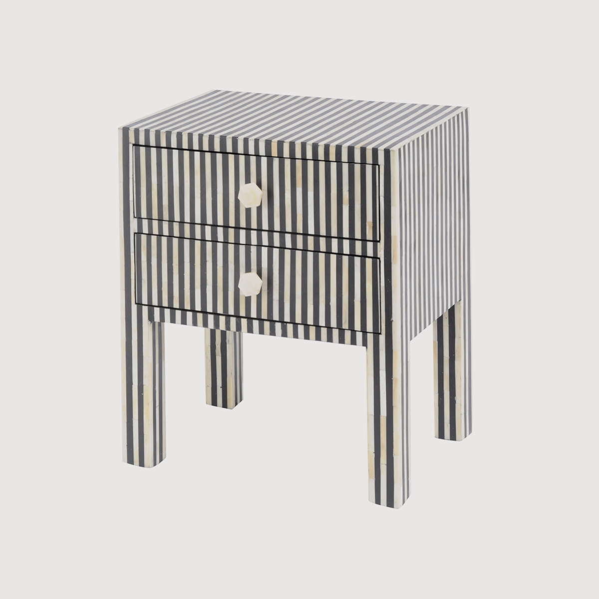 libra, chest of drawers, striped furniture, monochrome furniture