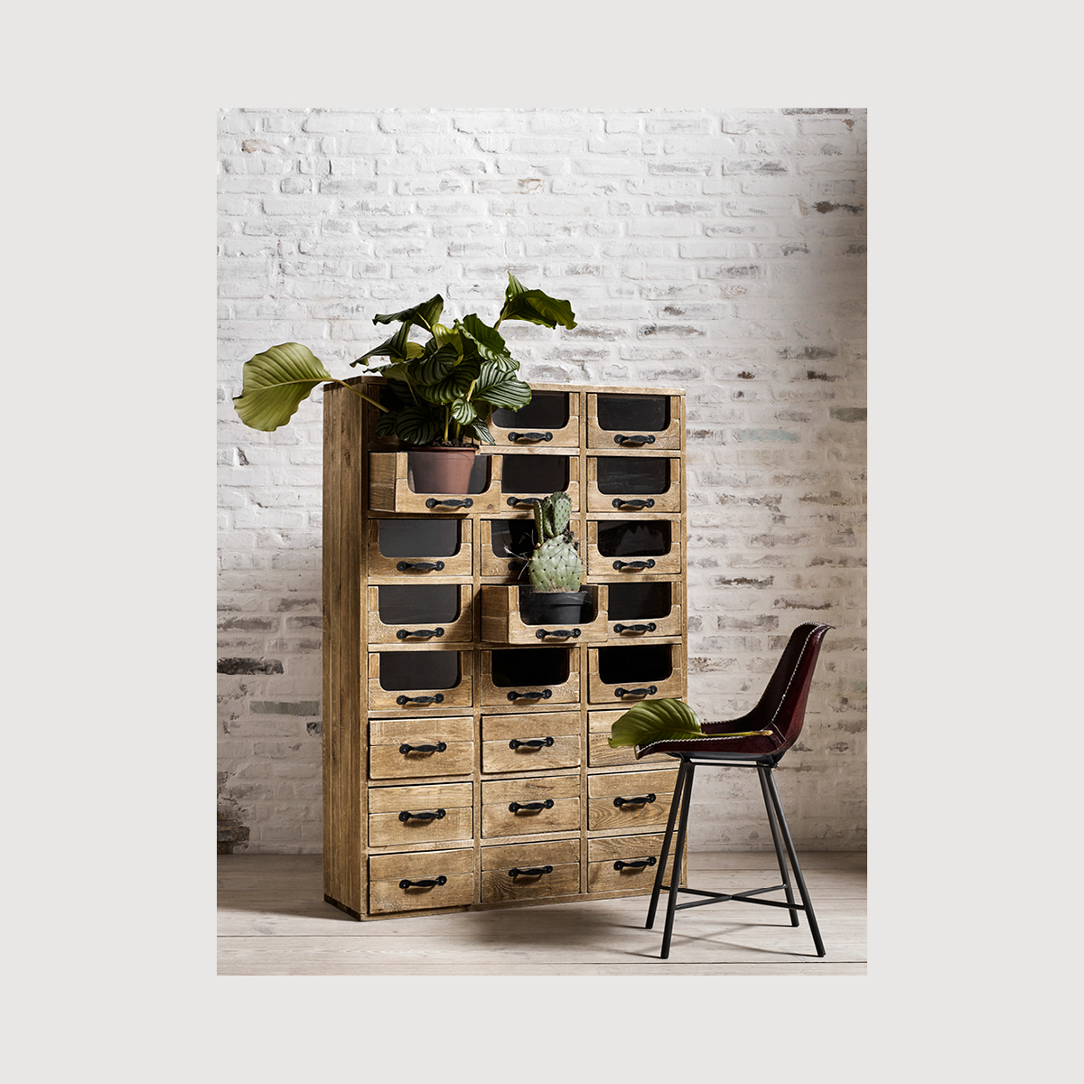 Pharmacy Cabinet with Drawers gallery image