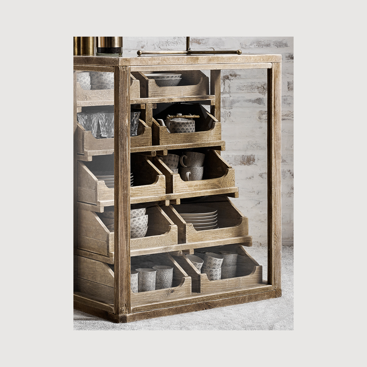 Pharmacy Dresser with Drawers gallery image