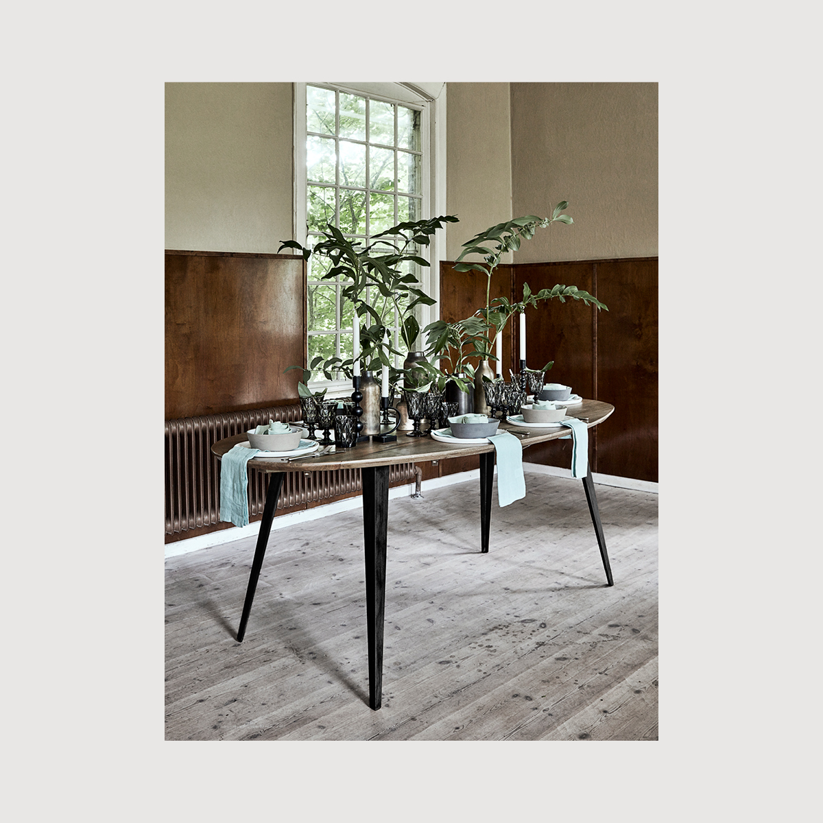 Oval Dining Table Nordal