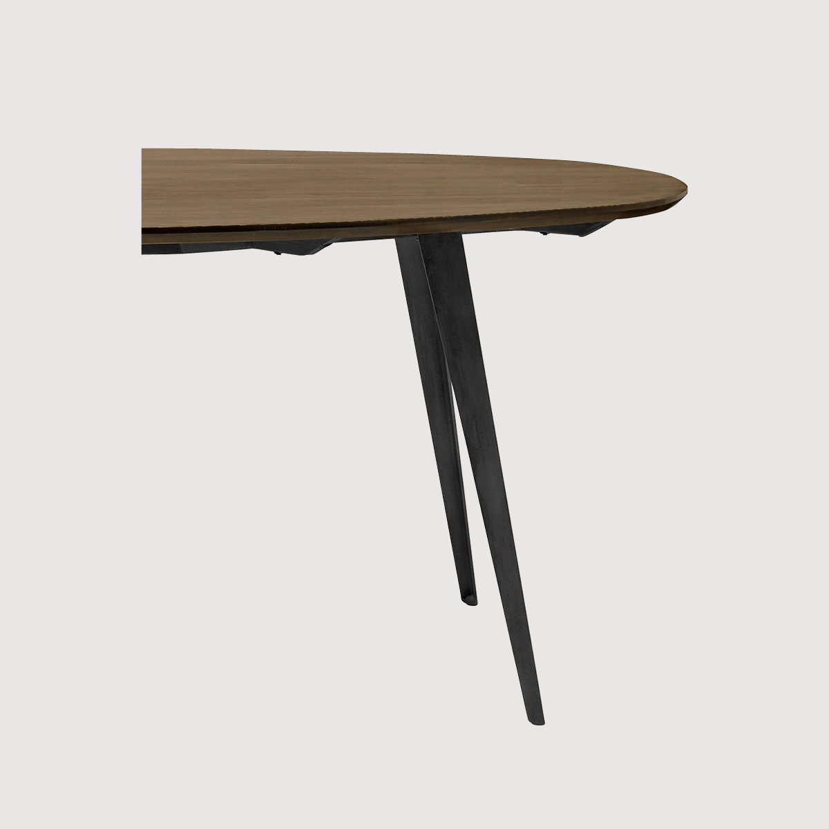 Lula Oval Dining Table – two finishes gallery image