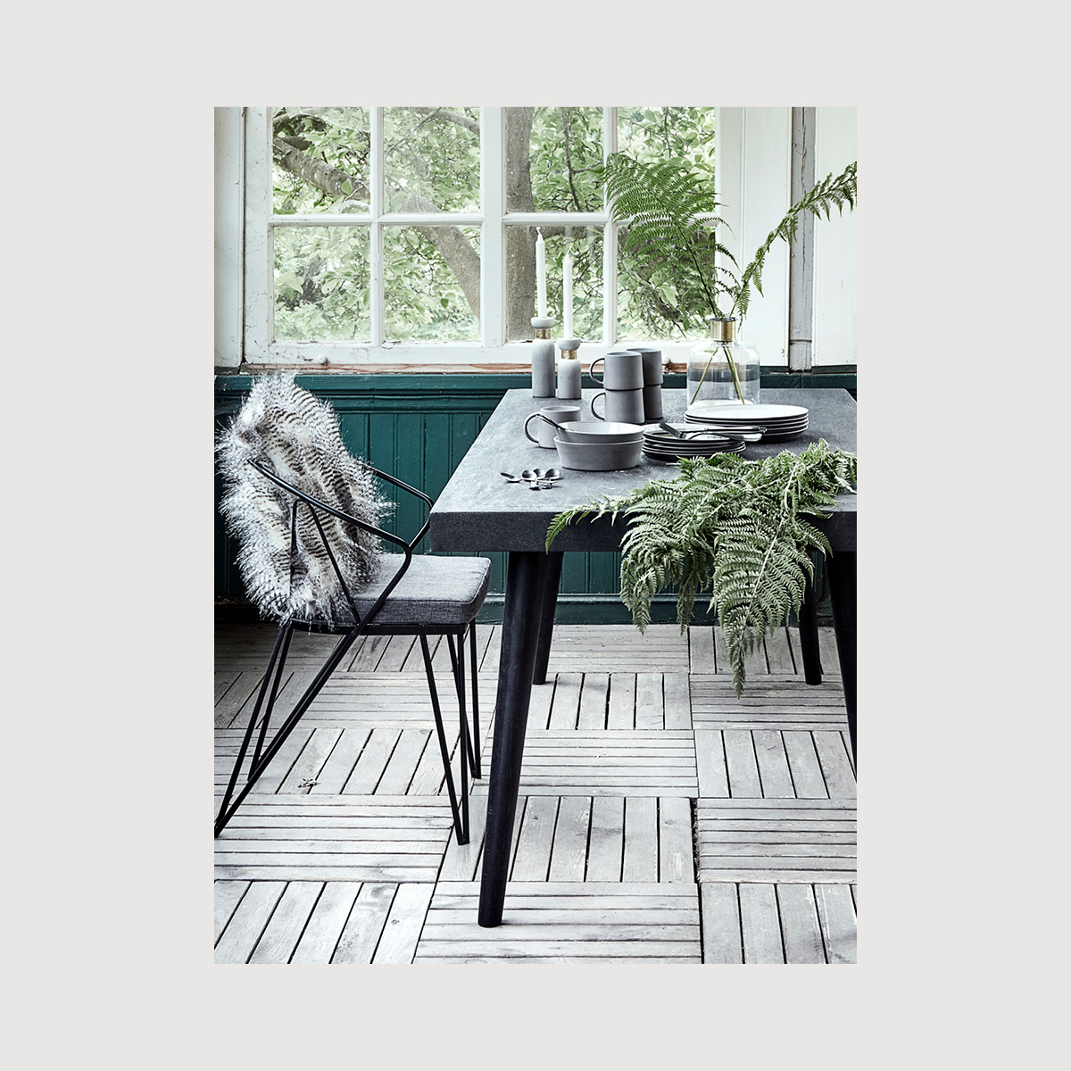 Margie Concrete Dining Table – two colours gallery image