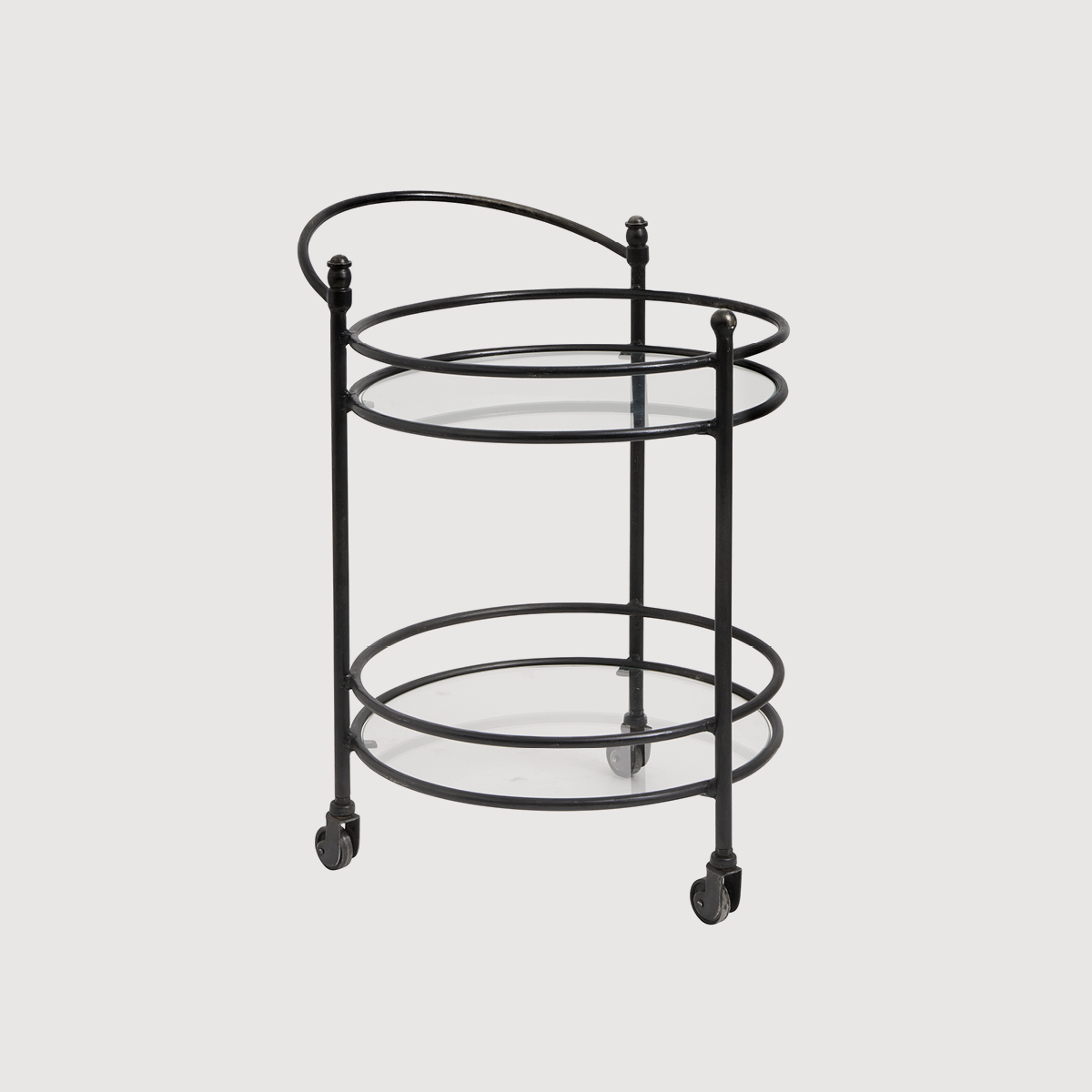 Eclipse Black Cocktail Trolley gallery image