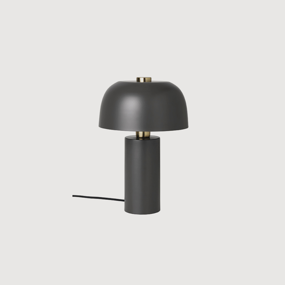 CHARCOAL brass table lamp