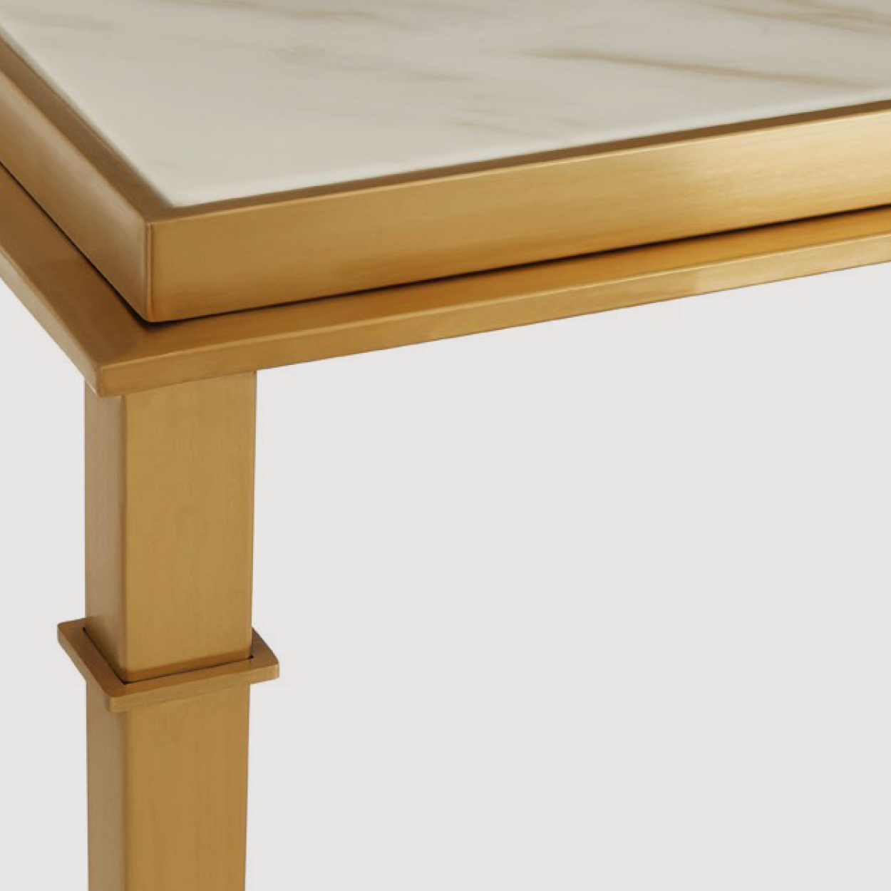 Alvaro Marble Console Table gallery image