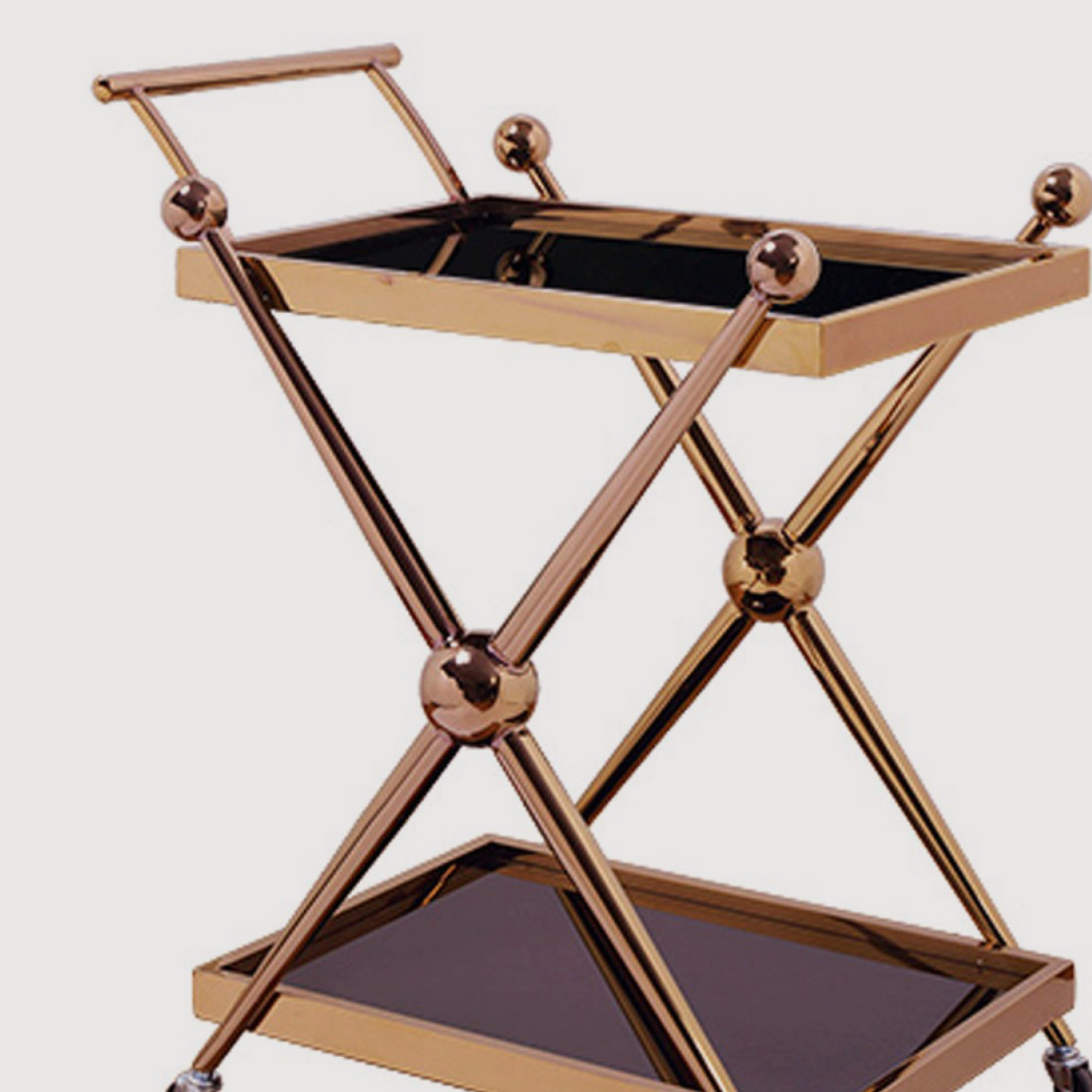 Novo Rose Gold Drinks Trolley gallery image