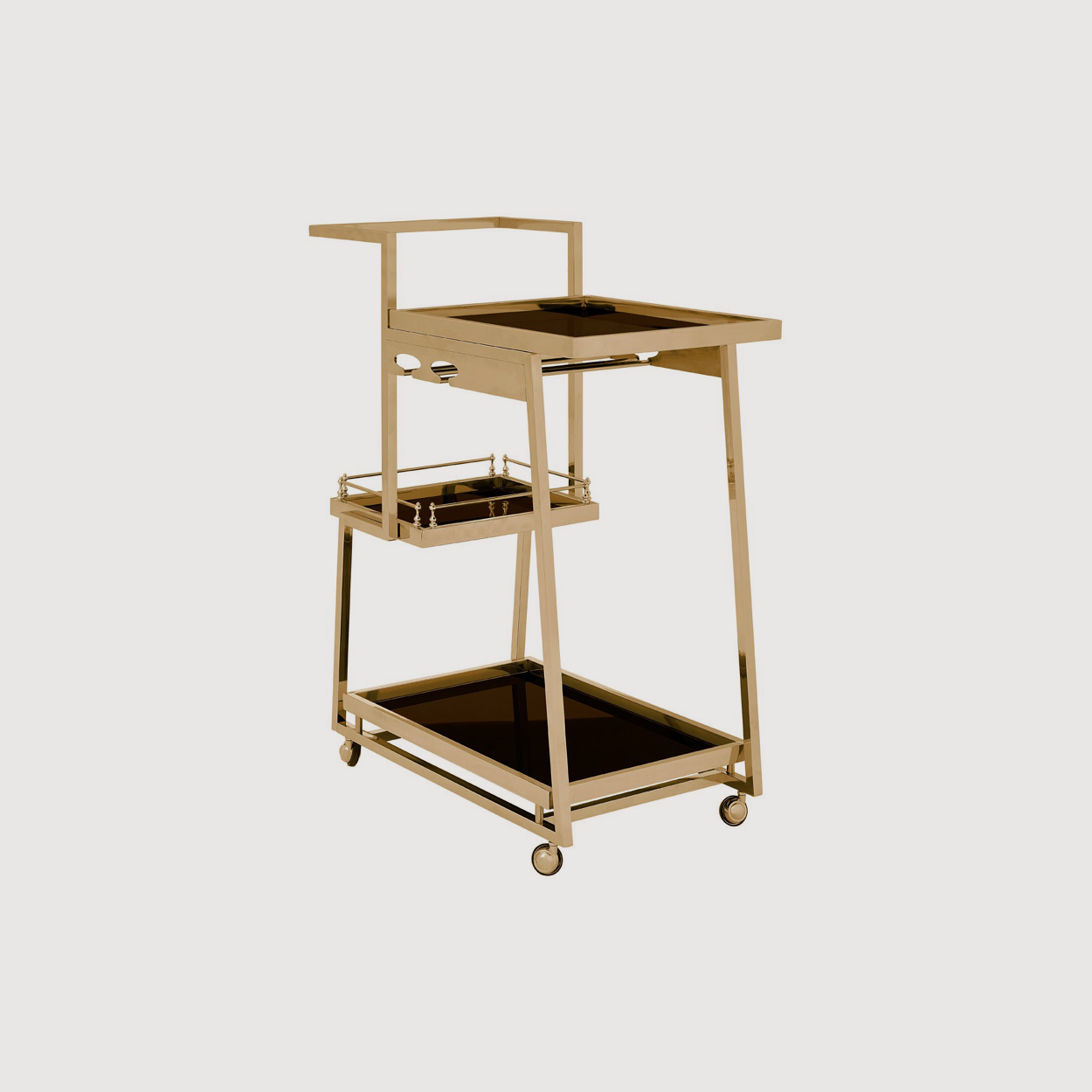 Novo Gold Drinks Trolley gallery image