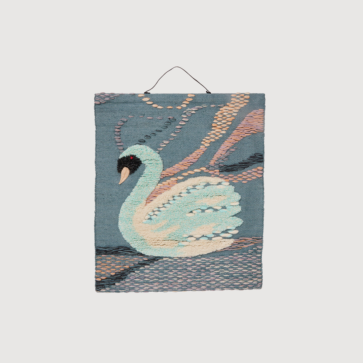 Swan Woven Wall Hanging