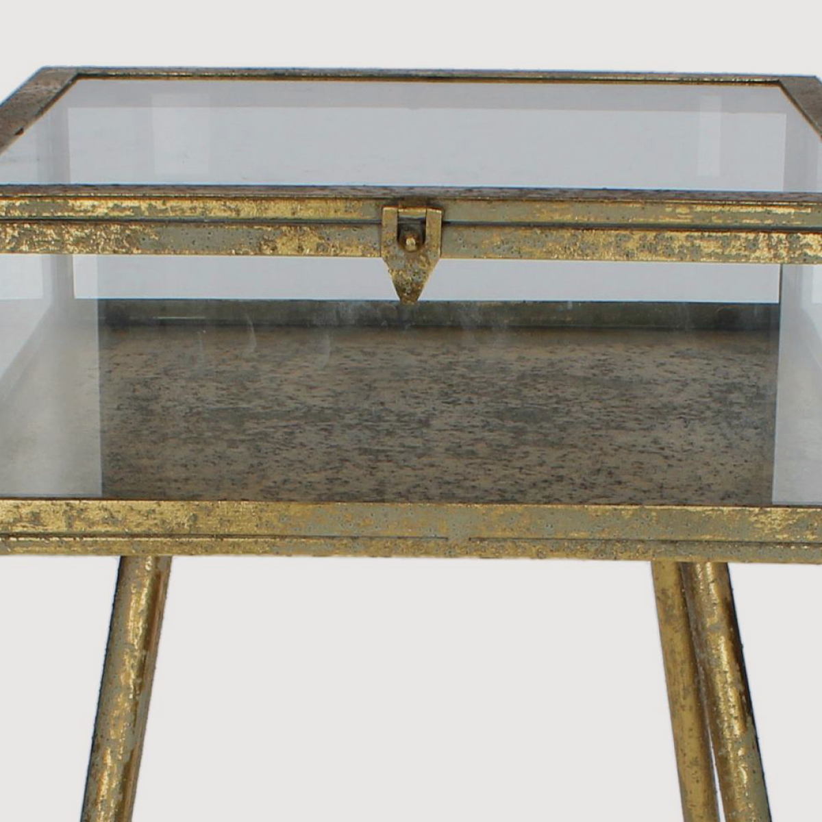 Cohan Side Table – Gold gallery image